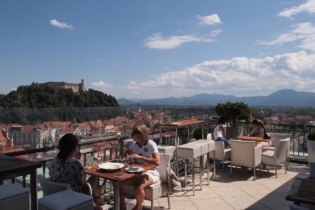 belle vue sur Ljubljana