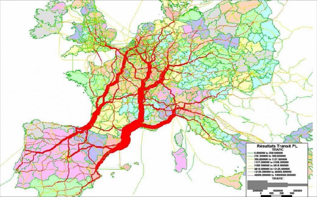 axe routier européen