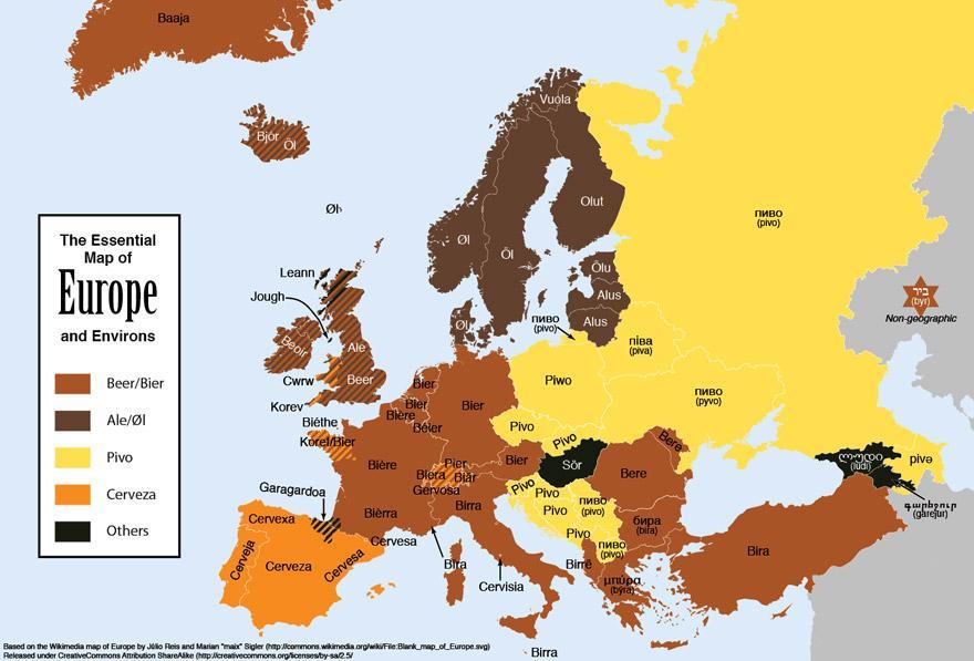 pays slaves pivo bière