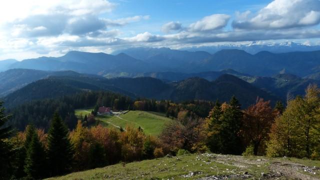 montagnes slovenie