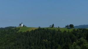 panorama colline slovenie