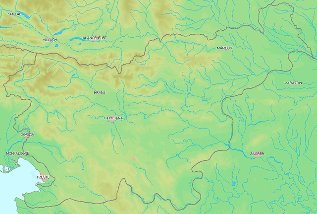 slovenie rivières