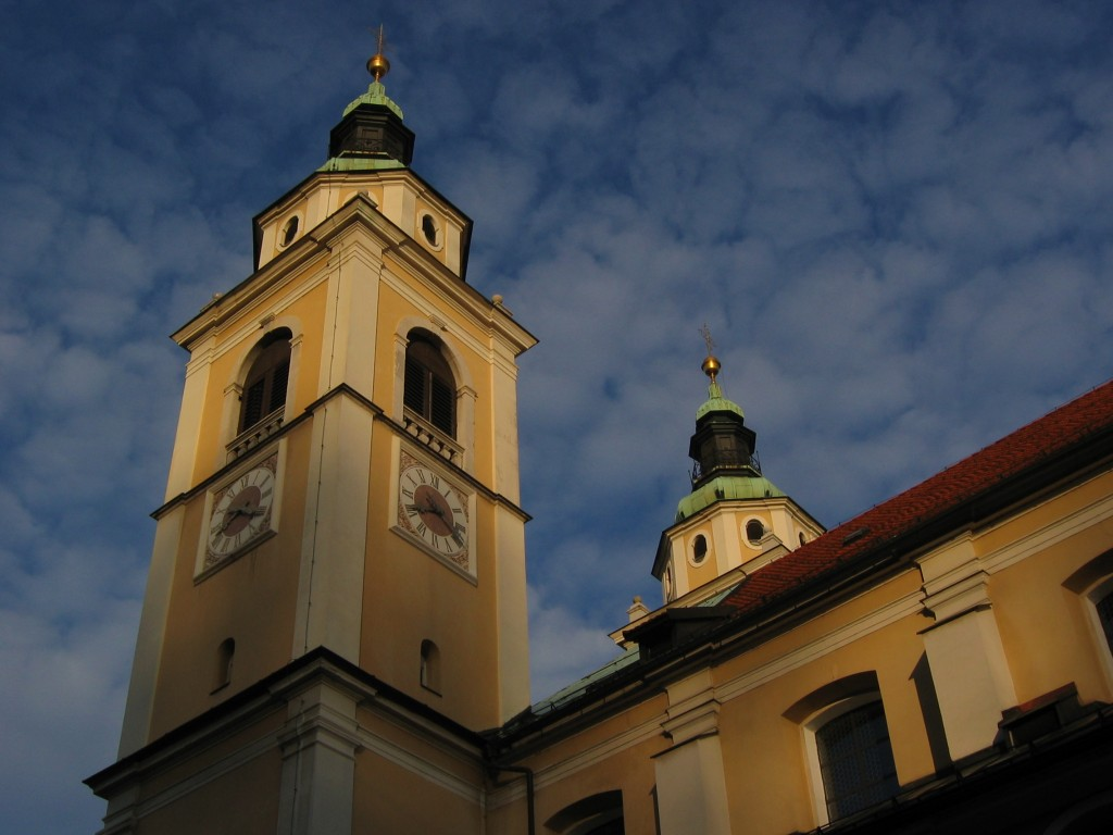 slovenie église