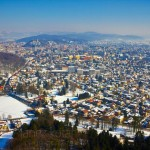 Panorama, Ljubljana sous la neige !