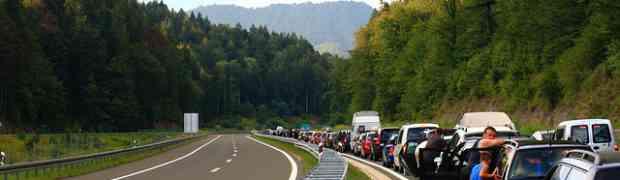 4 astuces pour éviter les bouchons pendant des vacances en Slovénie