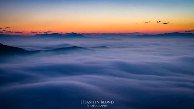 nuages slovénie