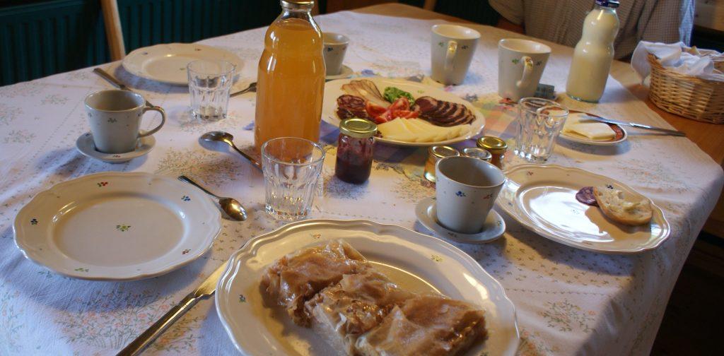 petit dejeuner ferme slovene