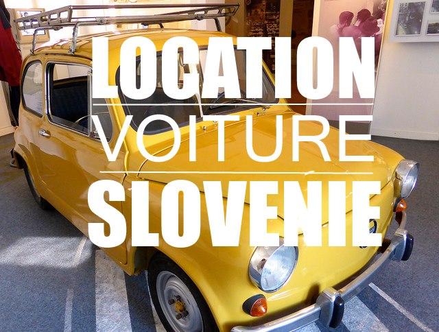 location voiture slovenie