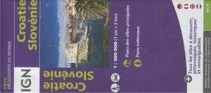 carte slovenie croatie