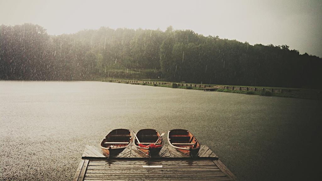 visiter ljubljana sous la pluie
