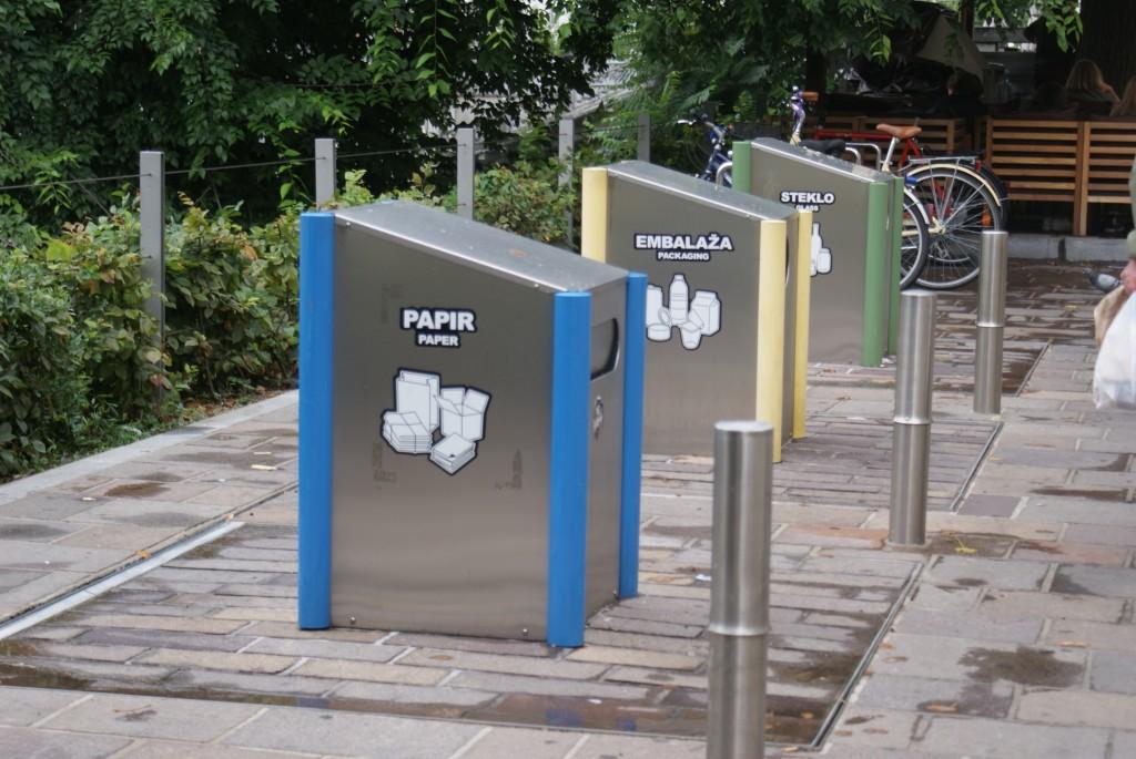 recyclage ljubljana