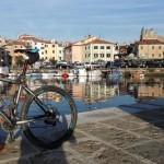 La belle piste cyclable pour découvrir toute la côte slovène