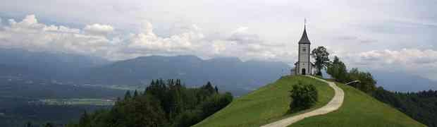 Carte des meilleures attractions touristiques de Slovénie